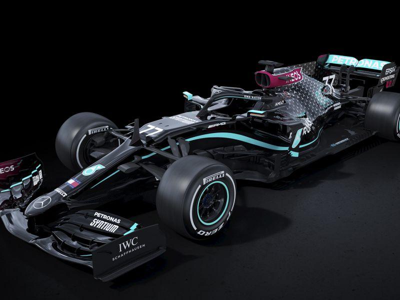 Mercedes avvierà la stagione di F1 con una livrea tutta nera, ecco perché