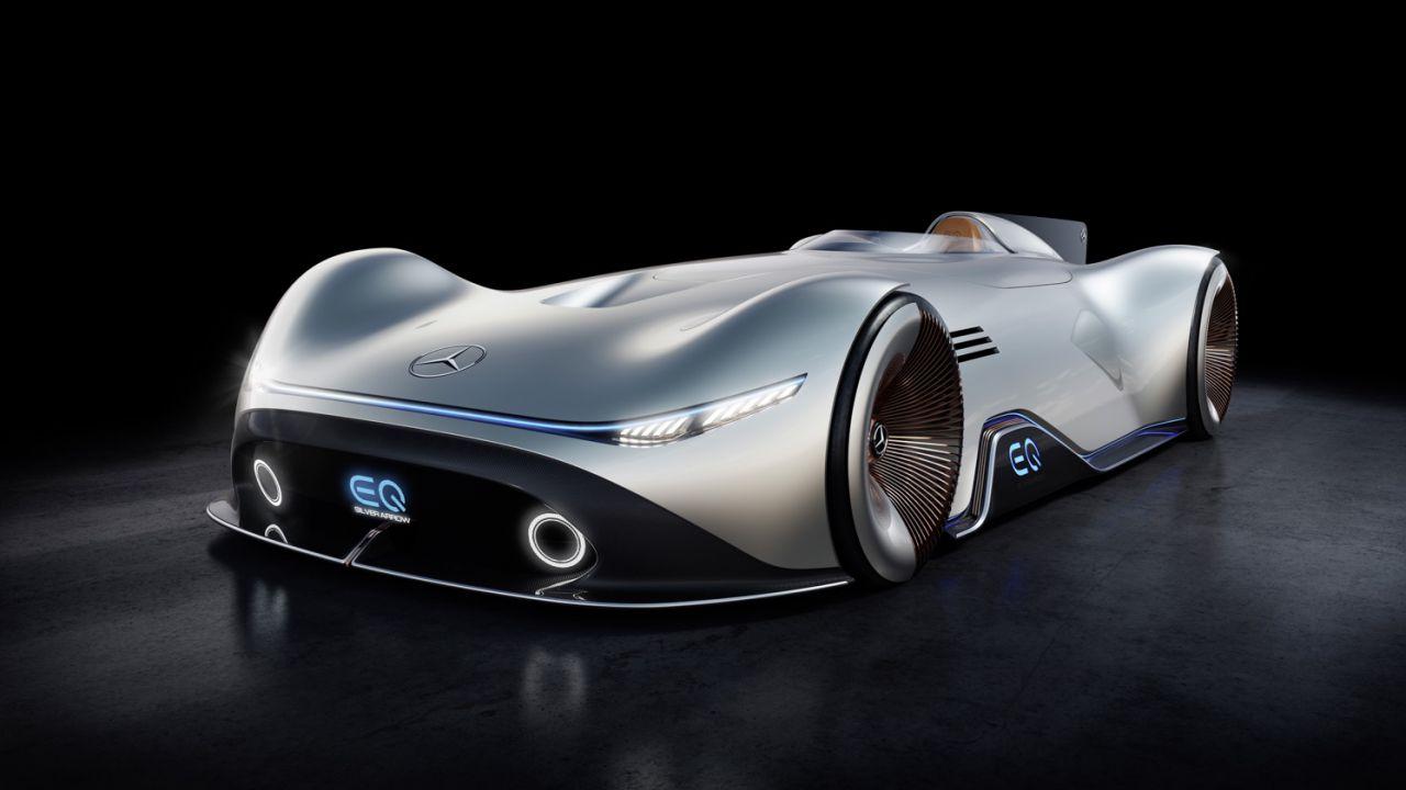 Mercedes-Benz EQ Silver Arrow: la concept monoposto fantascientifica da 750 cavalli