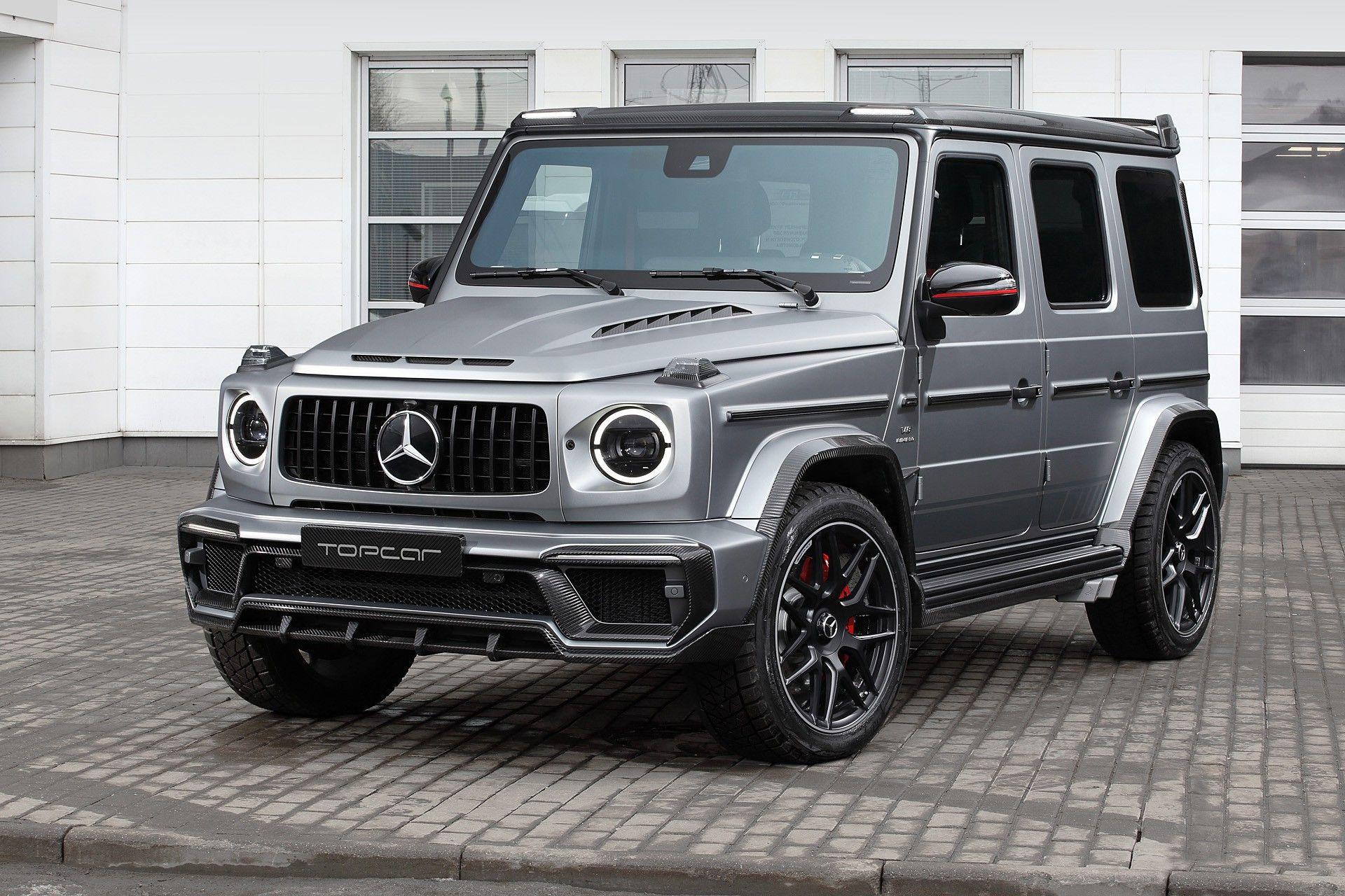Mercedes-Benz potrebbe mostrarci un enorme Classe G elettrico