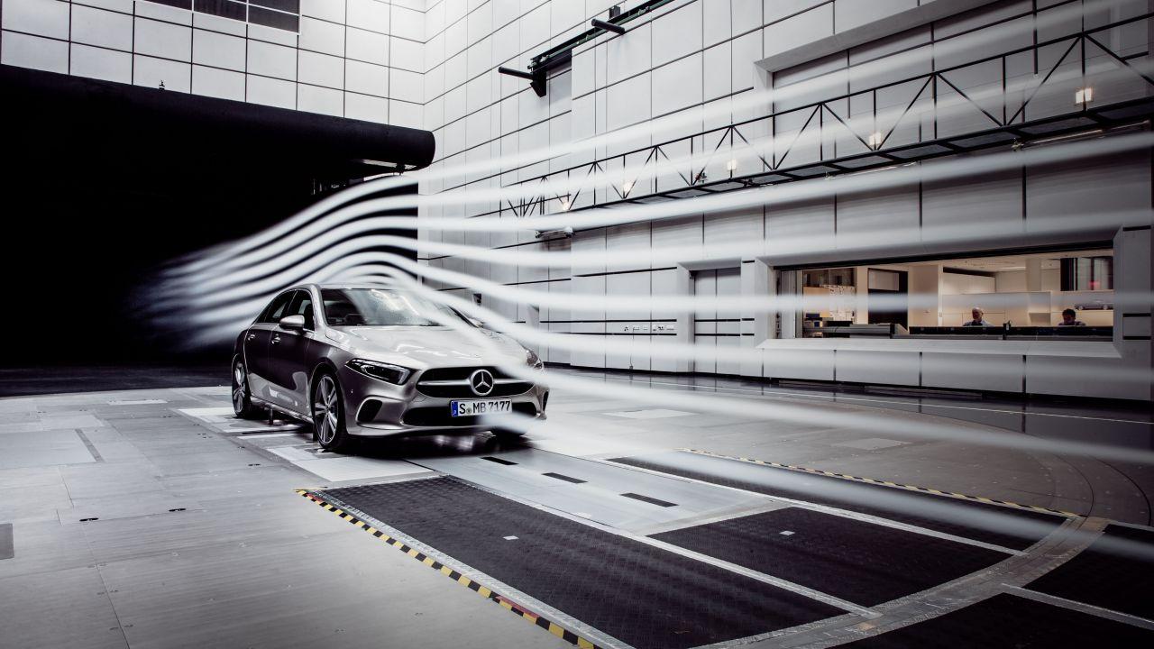 Mercedes Classe A Berlina sarà la vettura più aerodinamica del mondo