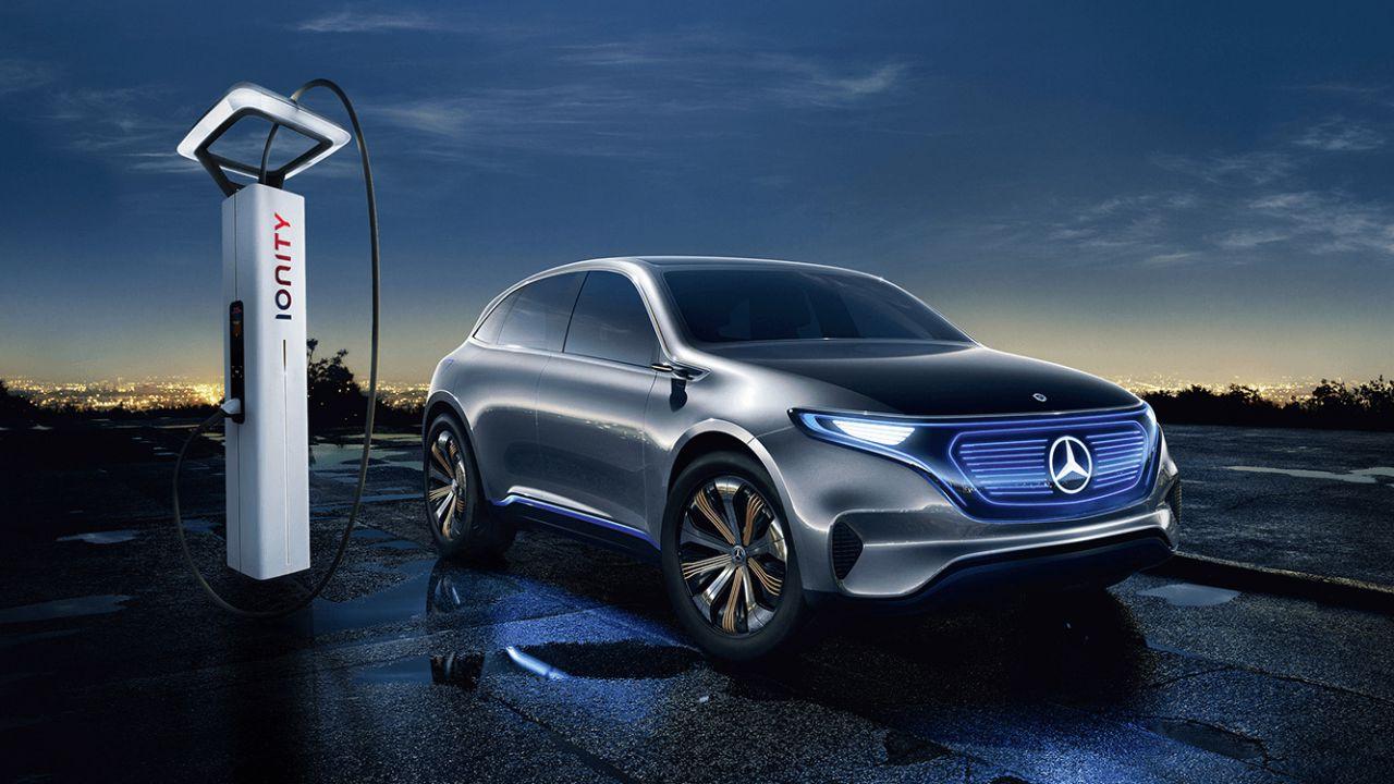 SUV Mercedes EQC