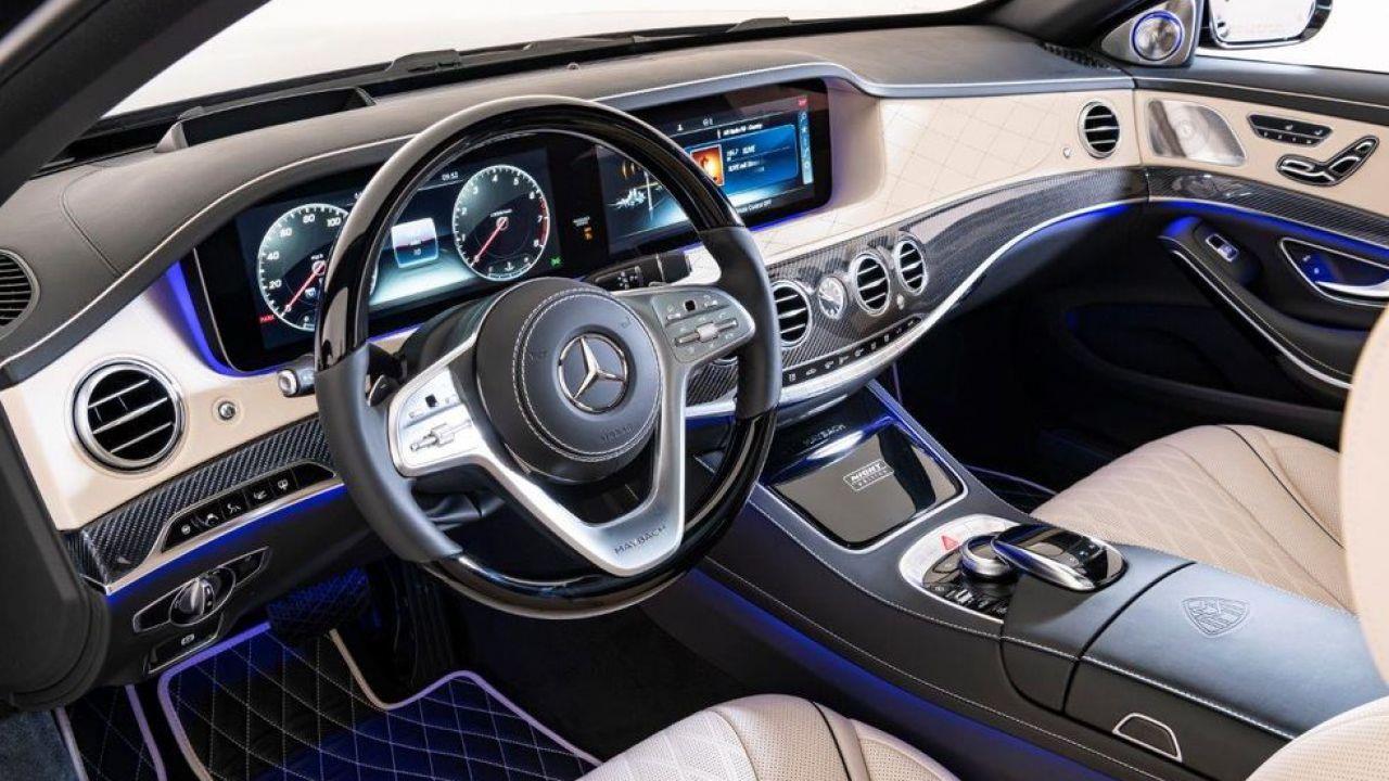 Mercedes-Maybach S650 Night Edition: la super-lussuosa in fibra di carbonio