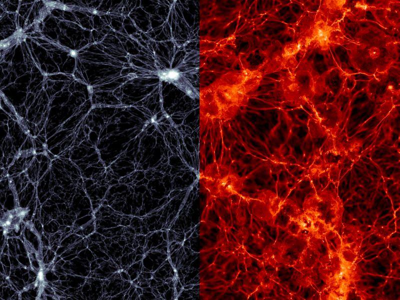 Metà della materia ordinaria dell'universo manca, ma potrebbe essere stata trovata