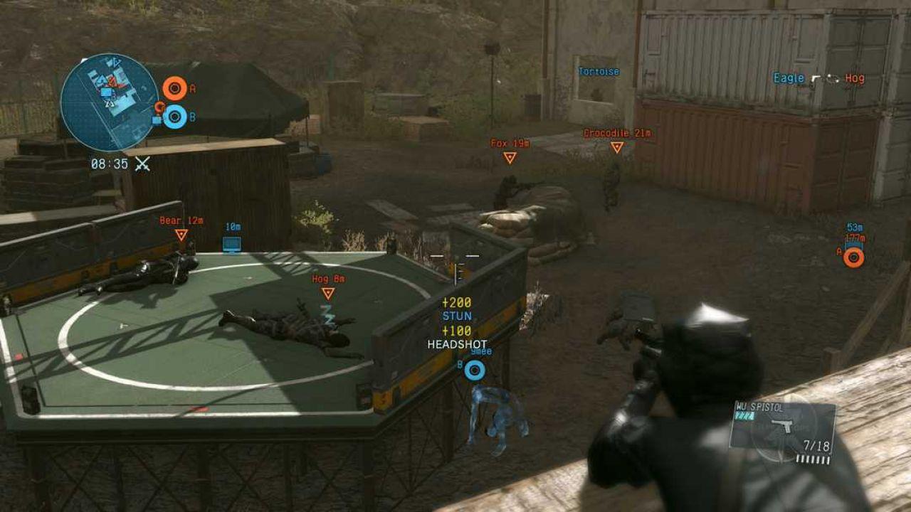 Metal Gear Online: primi dettagli sulla patch 1.01