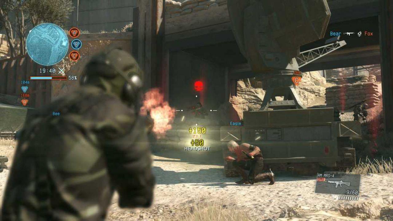 Metal Gear Online: server attivi su tutte le piattaforme