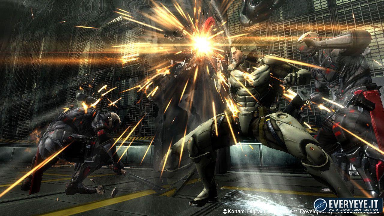 Metal Gear Rising arriverà su PC