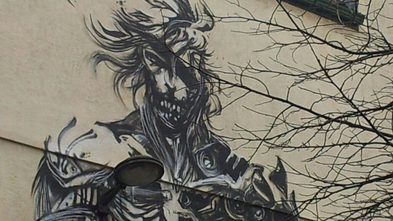 Metal Gear Rising: la copertina giapponese