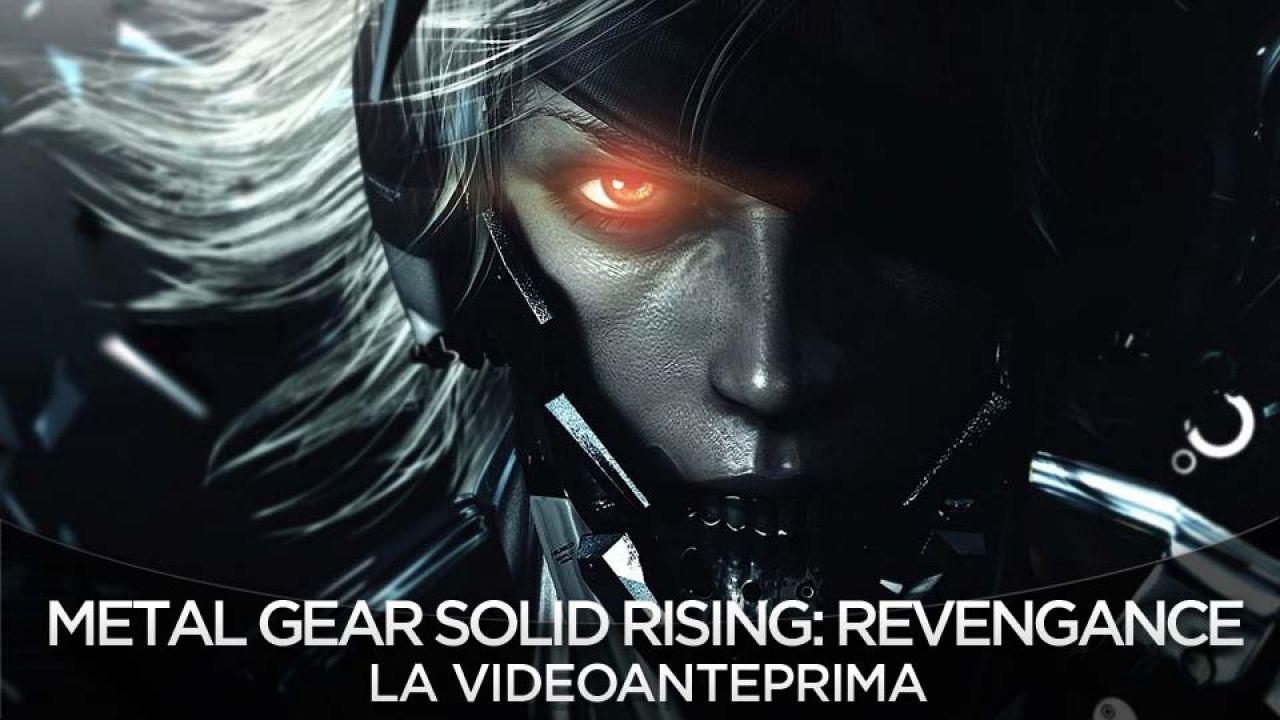 Metal Gear Rising: Revengeance - il DLC del day one sarà l'armatura di Raiden di MGS4