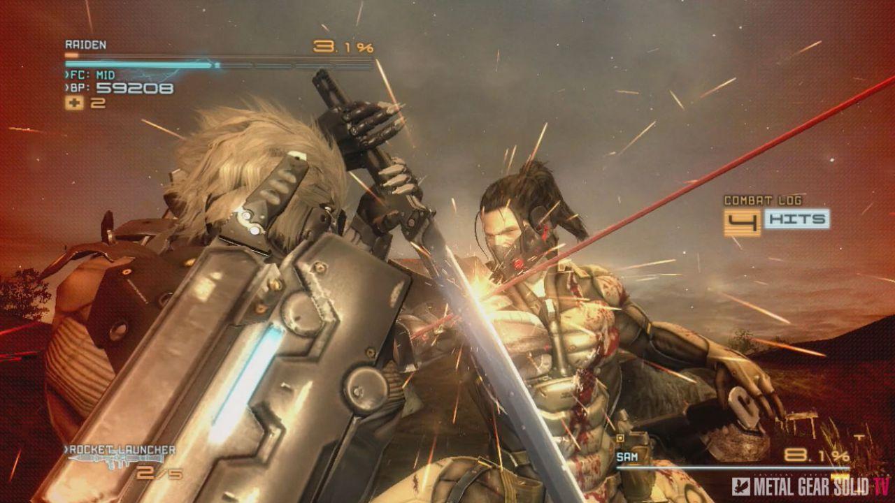 Metal Gear Rising: Revengeance, Kojima voleva Gray Fox e non Raiden