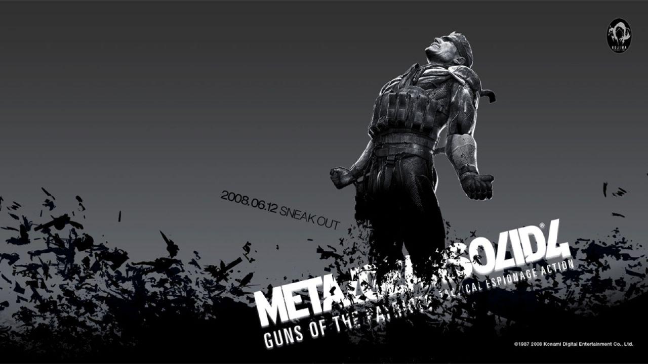 Metal Gear Solid 4 doveva essere il primo capitolo open-world della saga