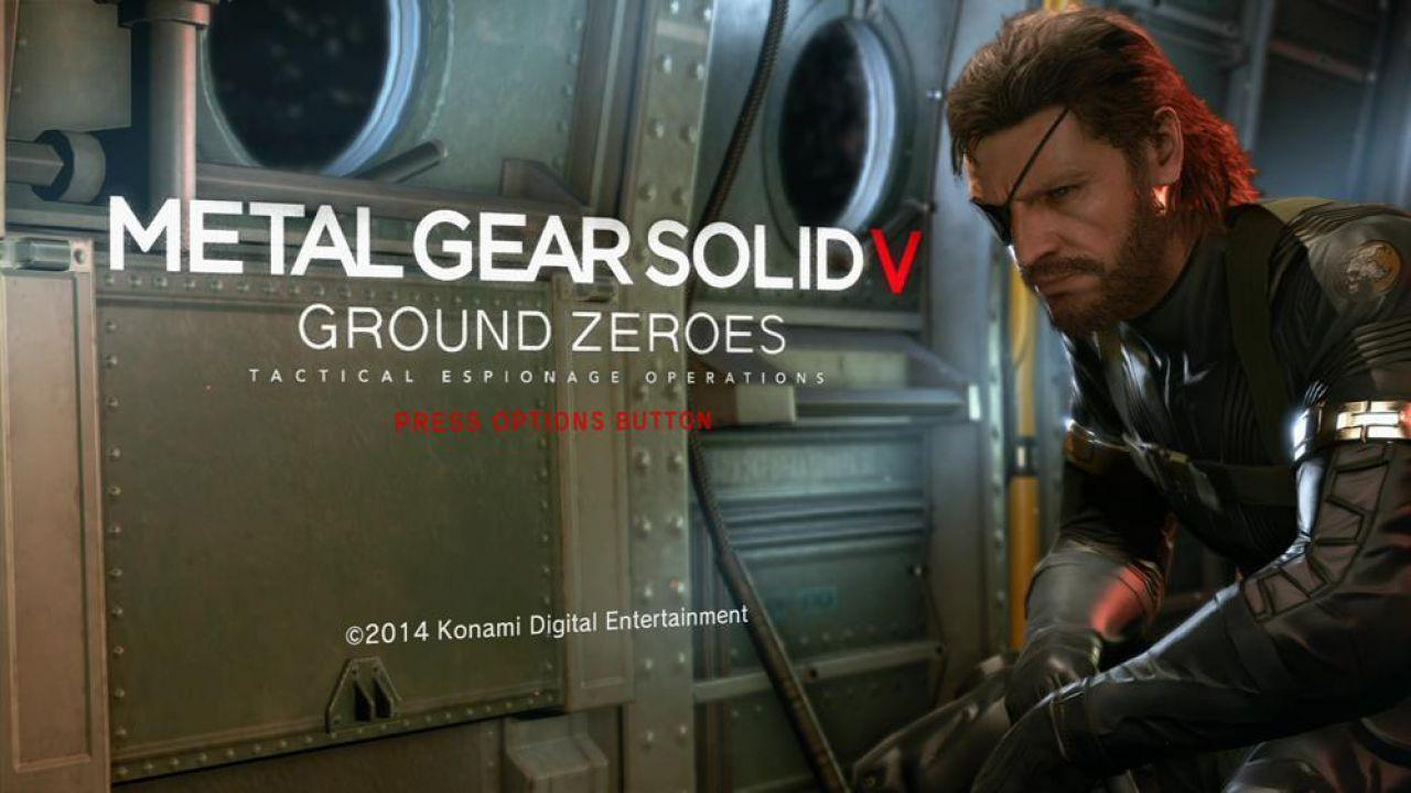 Metal Gear Solid 5 Ground Zeroes: domani verrà mostrata la versione PC