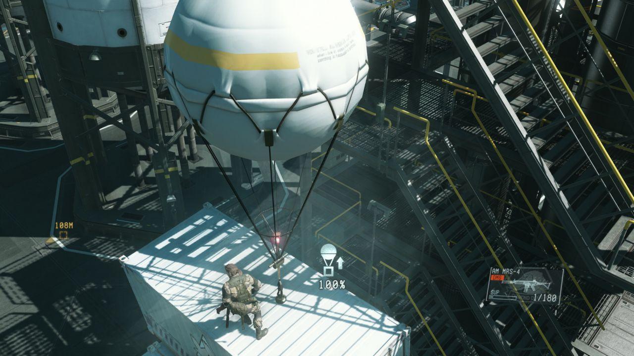 Metal Gear Solid 5 The Phantom Pain: Hideo Kojima mostra la Mother Base bianca