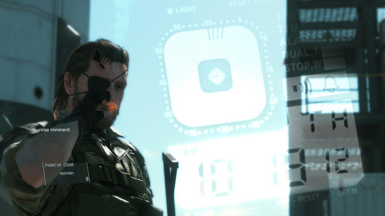 Metal Gear Solid 5 The Phantom Pain: Hideo Kojima pubblica una nuova immagine di Snake