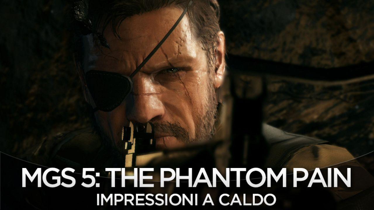 Metal Gear Solid 5 The Phantom Pain: le missioni non saranno open world