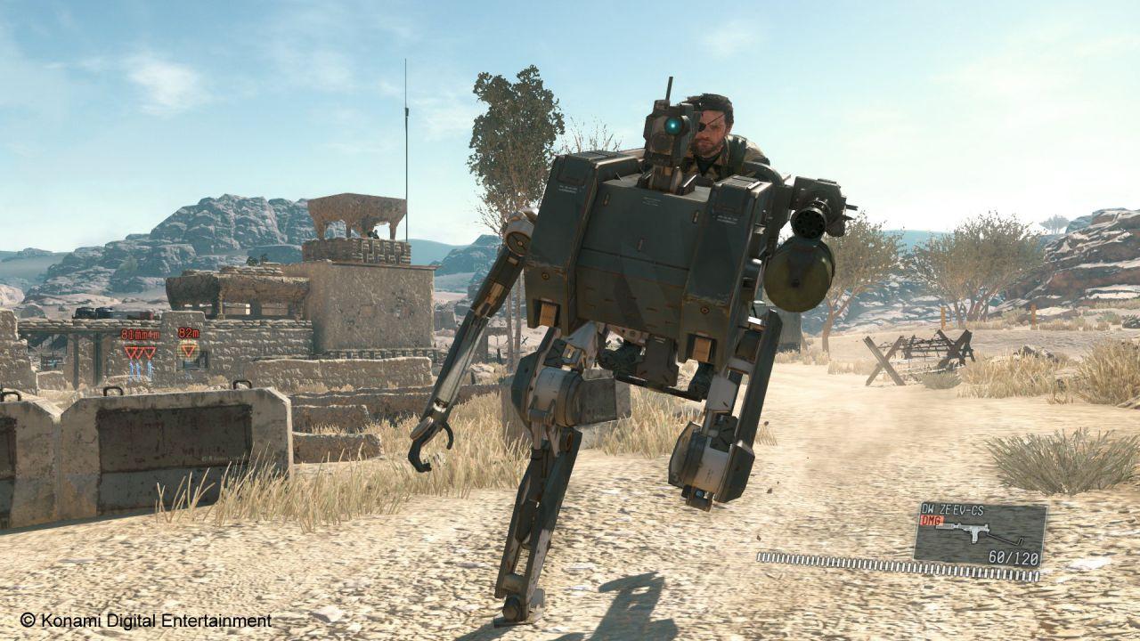 Metal Gear Solid 5: The Phantom Pain sarà più facile di Ground Zeroes