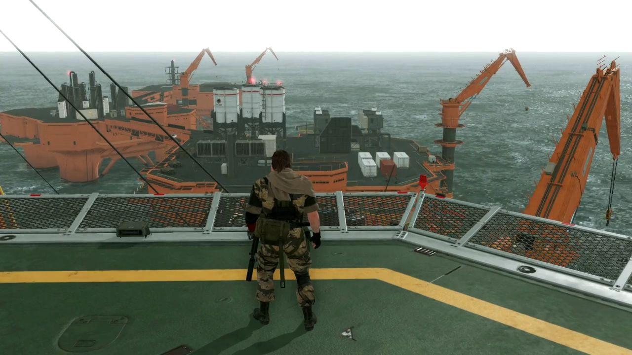 Metal Gear Solid 5 The Phantom Pain: un'immagine mostra la Mother Base