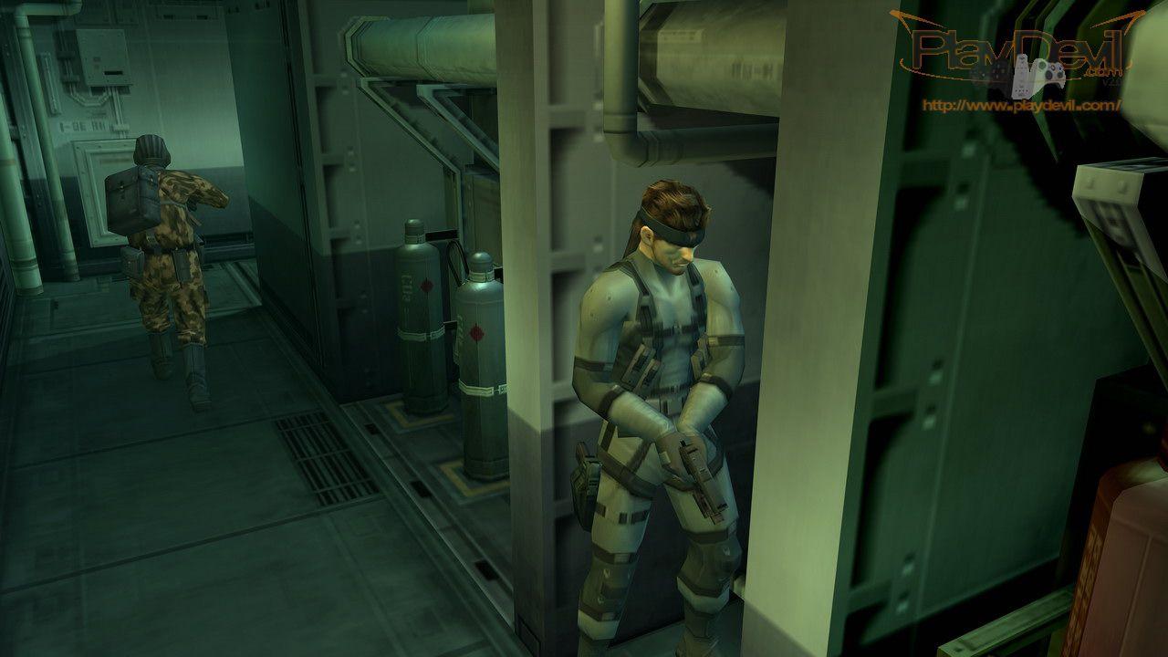 Metal Gear Solid ricreato con l'Unreal Engine 4