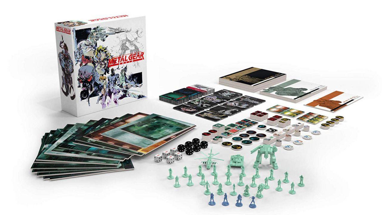 Metal Gear Solid: svelati miniature, prezzo e data d'uscita del gioco da tavolo