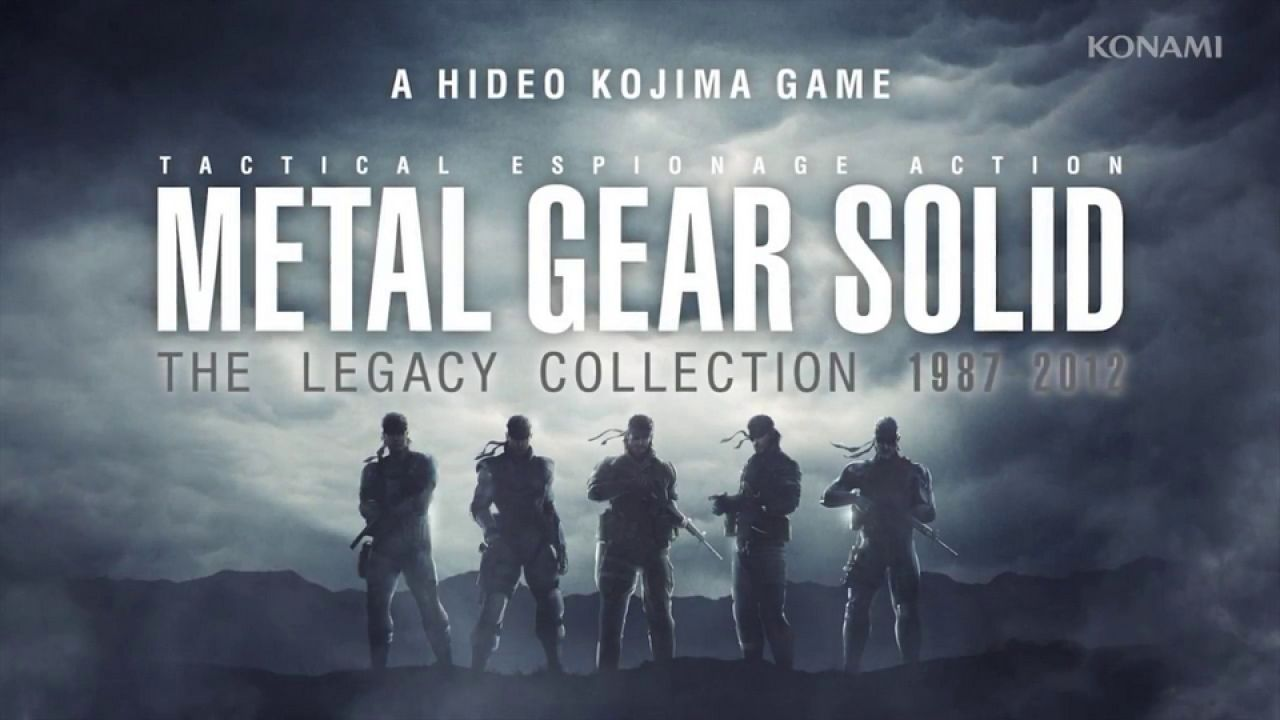 Metal Gear Solid: The Legacy Collection arriverà a Settembre in Europa