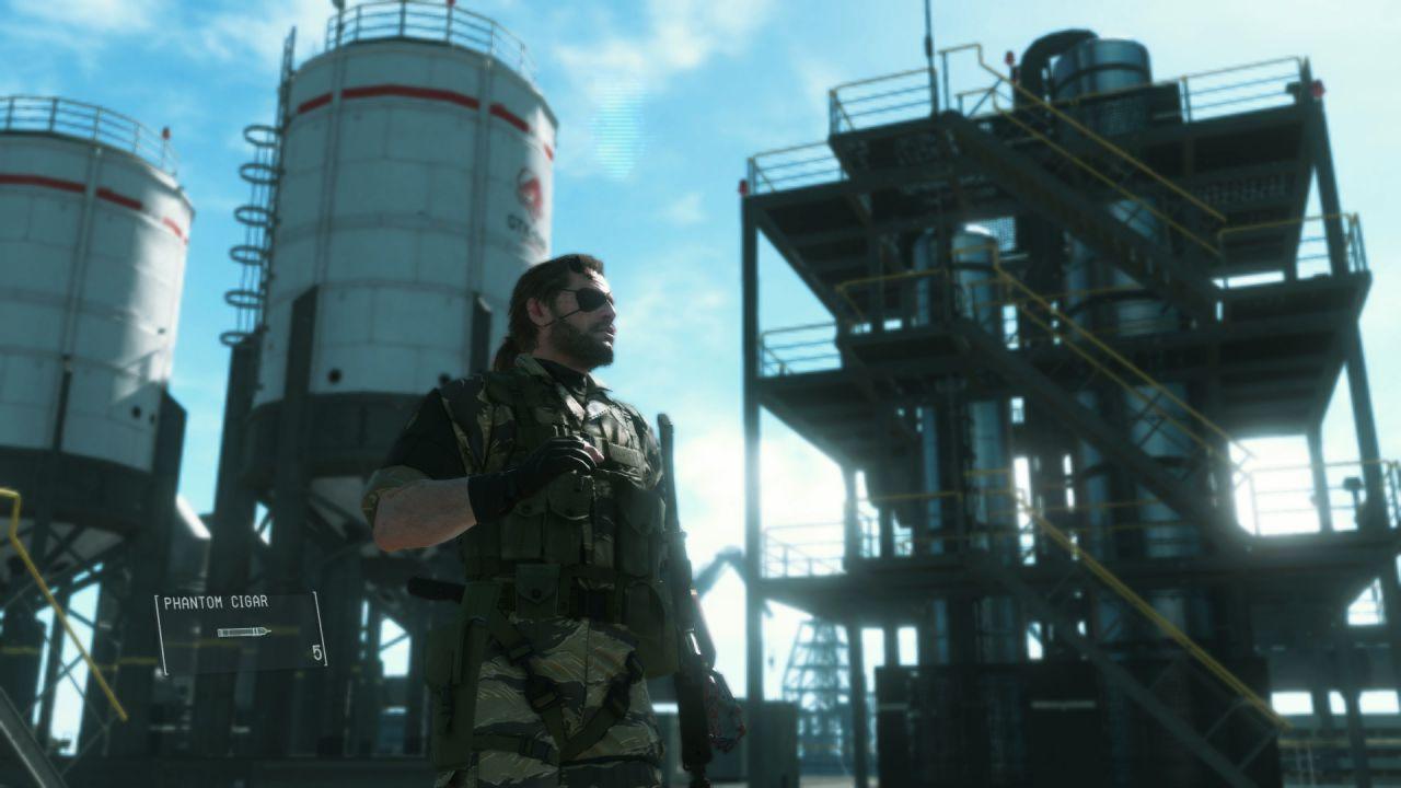 Metal Gear Solid V The Phantom Pain: disponibile la companion app per iOS e Android