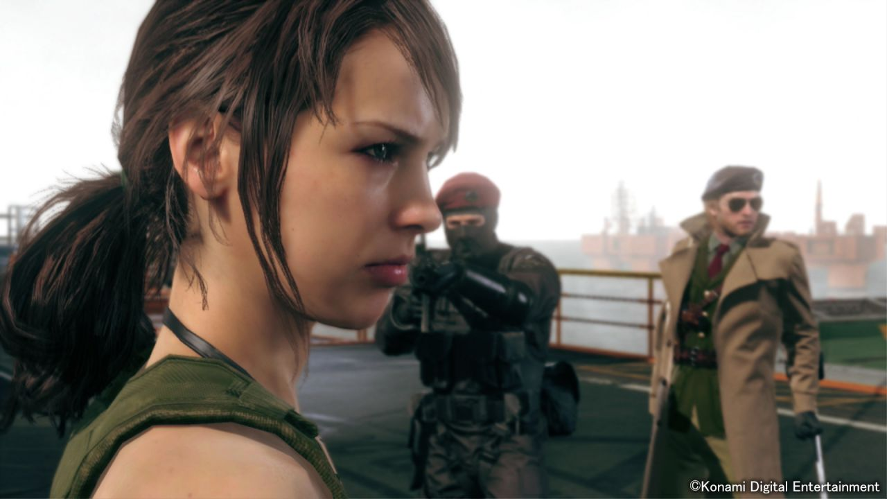 Metal Gear Solid V The Phantom Pain: Quiet non è coinvolta nell'episodio 51