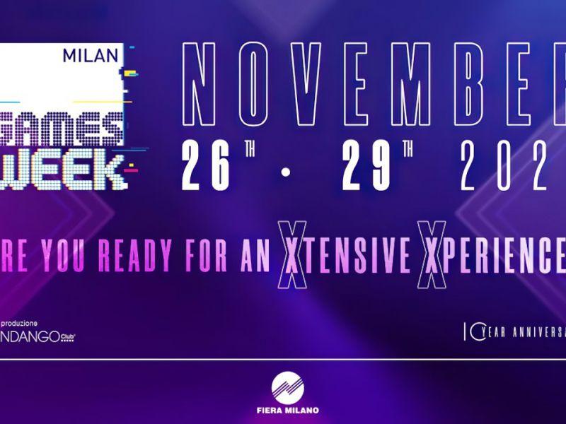 MGW-X: 4 giorni di spettacoli su Twitch per il decimo anniversario della Milan Games Week