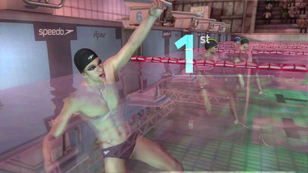 Michael Phelps: Push the Limit. Nuove immagini del titolo Kinect