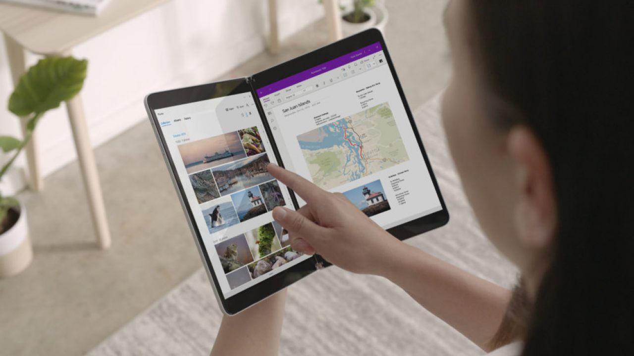 Microsoft annuncia il Surface Neo con doppio schermo ed il nuovo Windows 10X