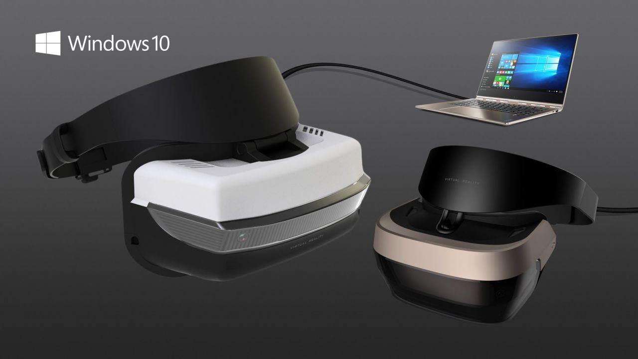 Microsoft annuncia linea visori VR a 299 dollari