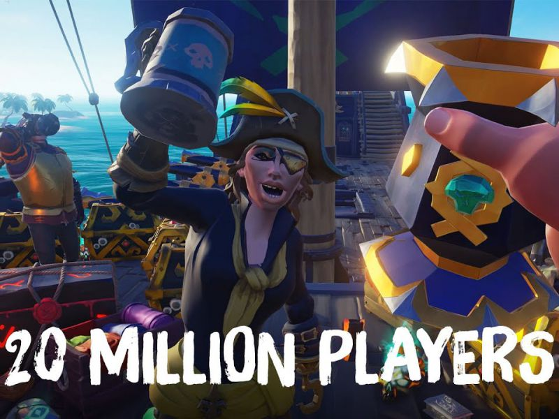 Microsoft celebrates Sea of Thieves: 20 million players, new gifts for users