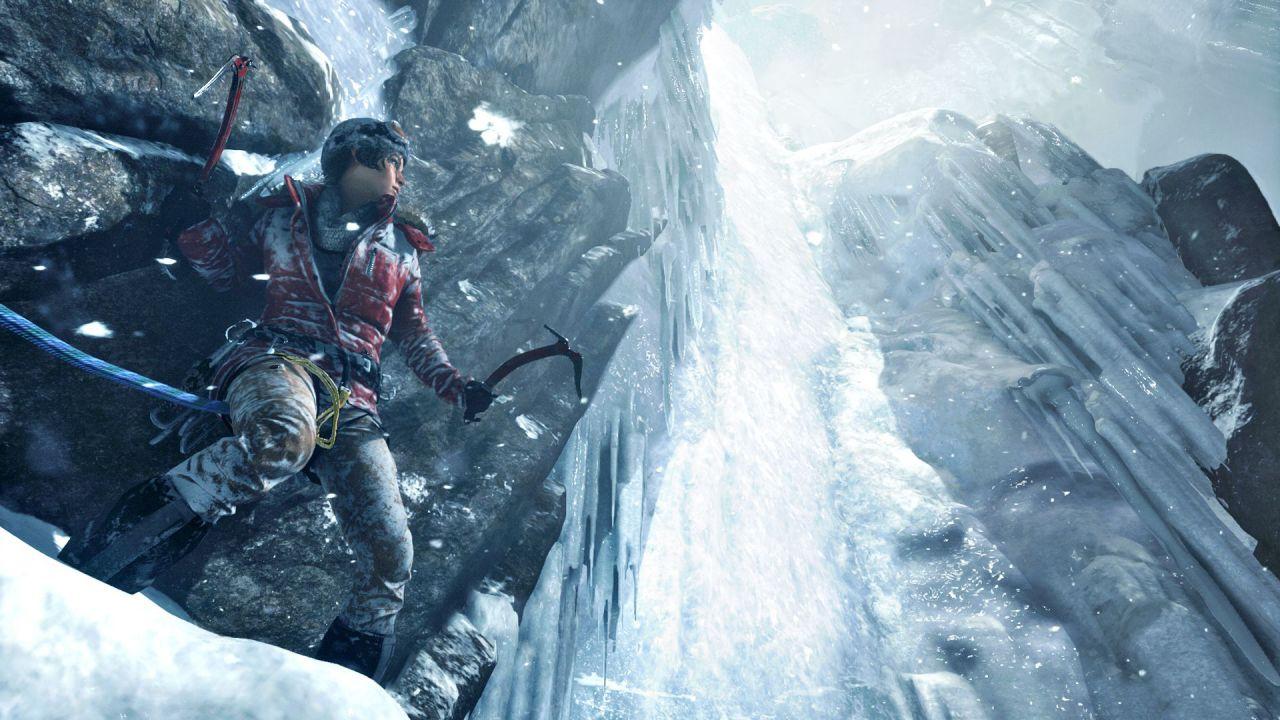 Microsoft festeggia l'arrivo di Rise of the Tomb Raider su Xbox One