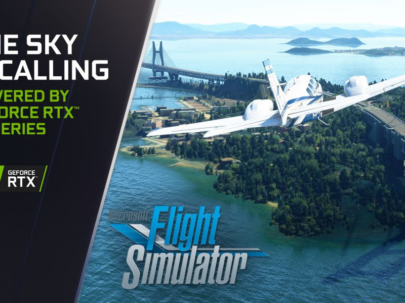 Microsoft Flight Simulator doubles performance: DF's test on GeForce RTX 30