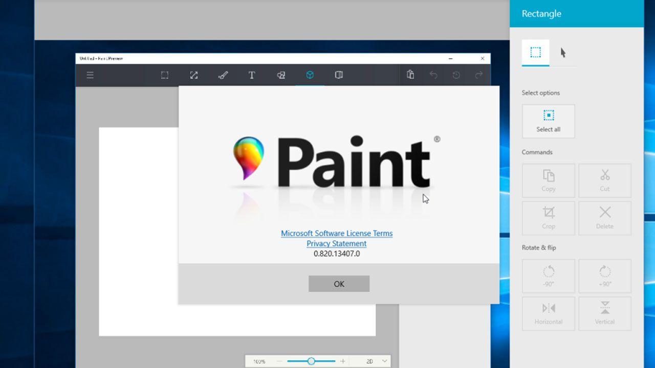 Ecco come sarà il nuovo Paint su Windows 10