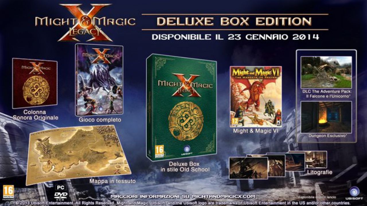 Might and Magic X Legacy: live gameplay
