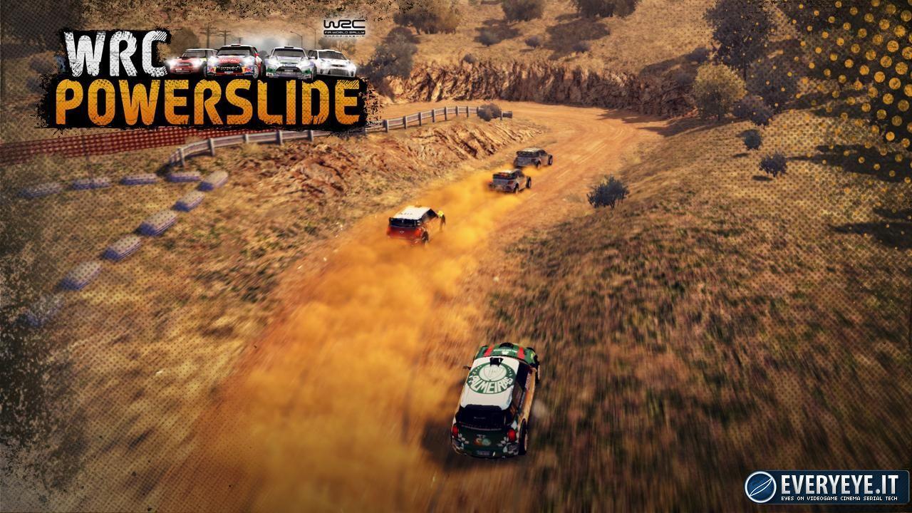 Milestone annuncia WRC Powerslide - La Rally Experience diventa Arcade
