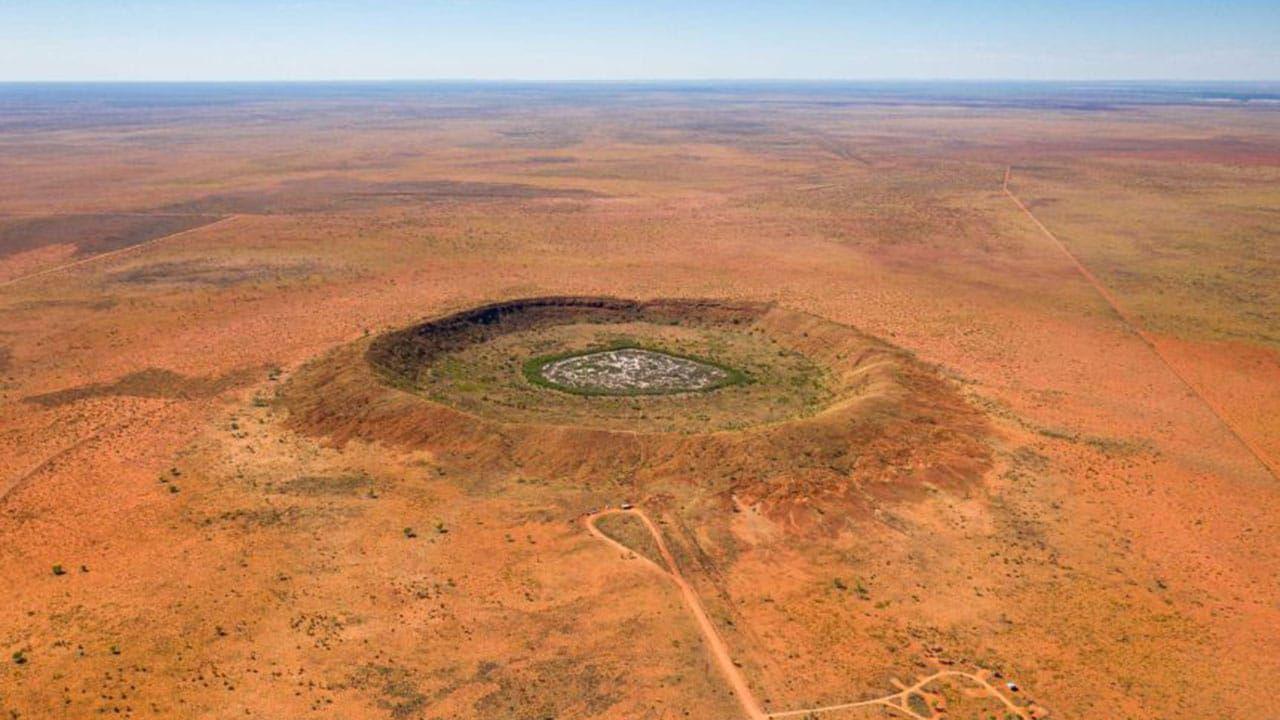 Minatori d'oro trovano un cratere meteoritico di 100 milioni di anni fa