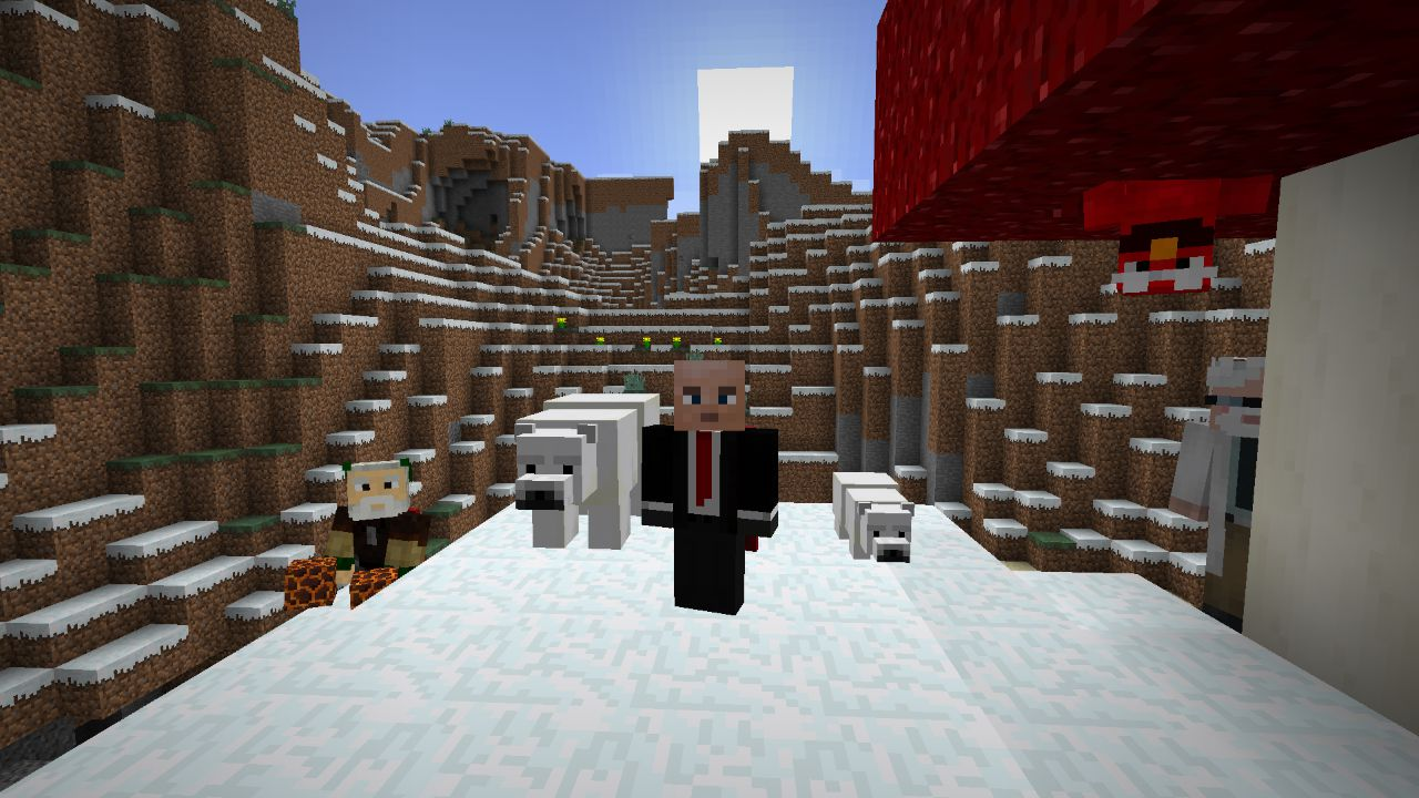 Minecraft: Arrivano gli orsi polari con la patch 1.10 Frostburn
