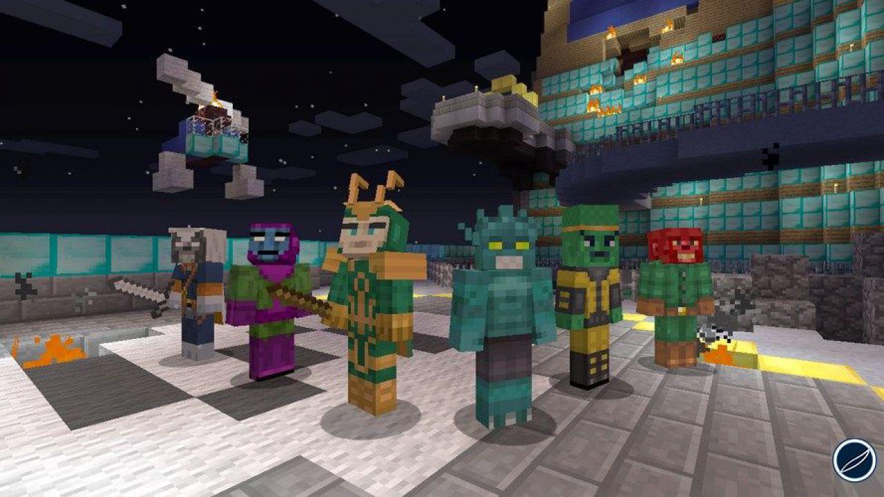 Minecraft: in arrivo le skin dei Guardiani della Galassia