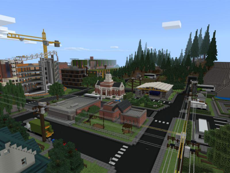 Minecraft teaches: new free map explores environmental protection according to Microsoft