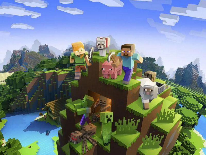 Minecraft, magazine seeks virtual gardeners: children answer the job ad!