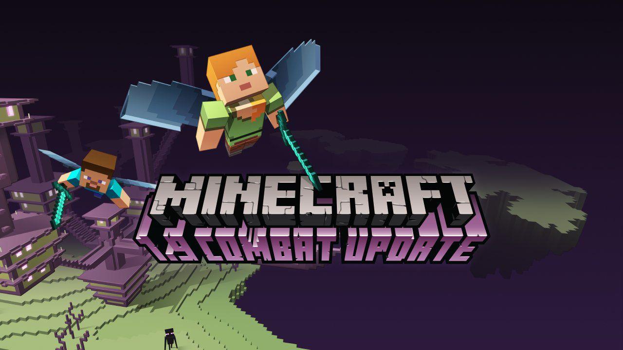 Minecraft si dà al combattimento con l'aggiornamento 1.9