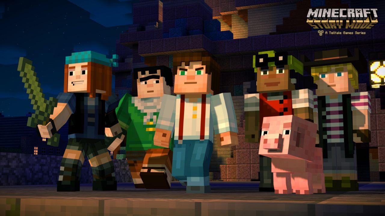 Minecraft Story Mode: il primo episodio uscirà a metà ottobre