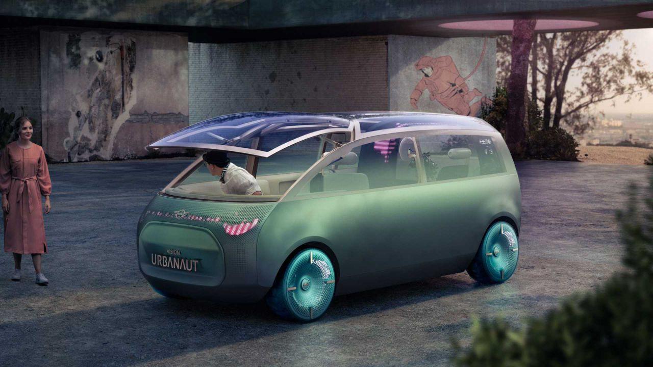 Mini Vision Urbanut: è questo il futuro della mobilità secondo Mini