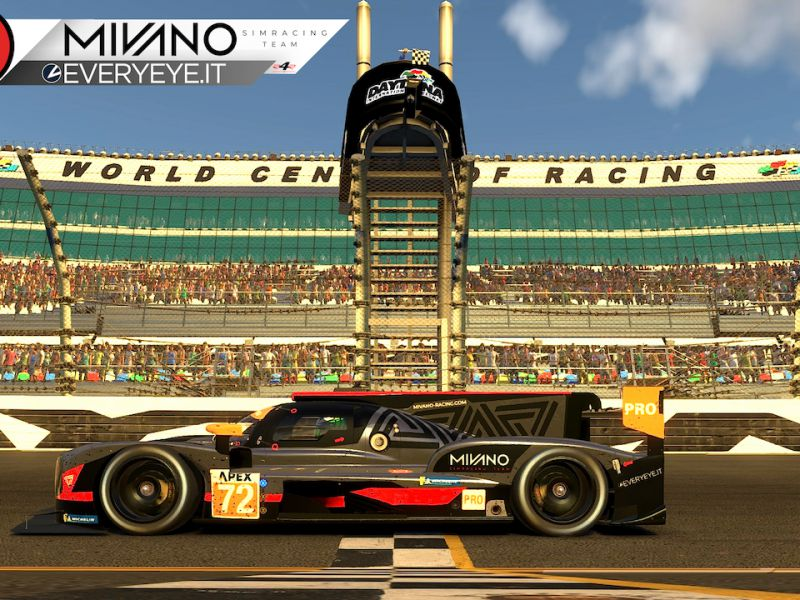 Mivano Simracing Team on track on 6 February in the Sports Car Open Championship in Interlagos