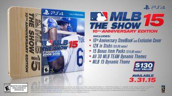 MLB 15 The Show: annunciata la speciale 10th Anniversary Edition