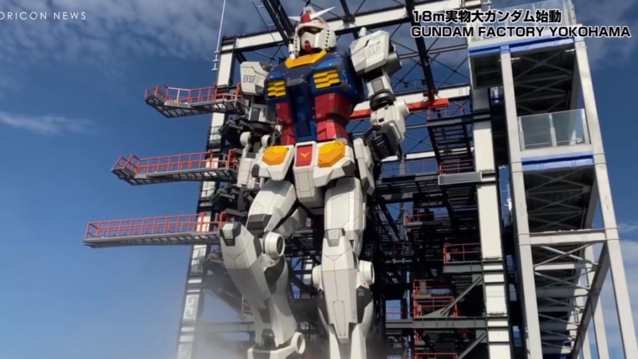 Mobile Suit Gundam: il gigantesco robot da 25 tonnellate si muove, mostrato un nuovo video