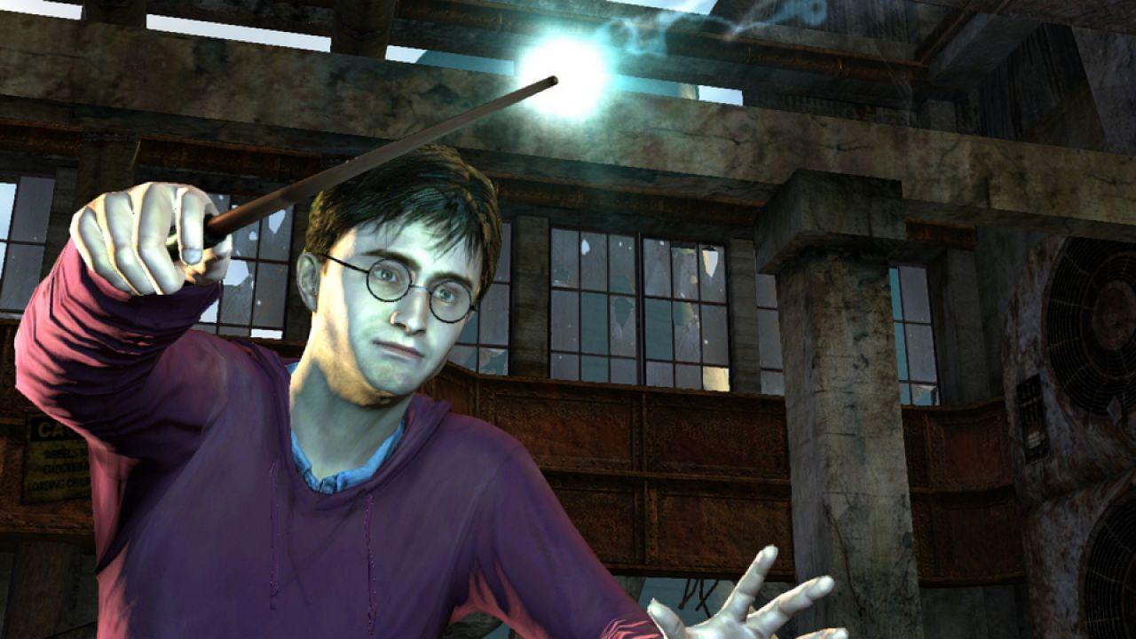 Modalità esclusiva per Kinect in Harry Potter e i Doni della Morte