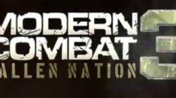 Modern Combat 3: Fallen Nation disponibile dal 27 Ottobre su App Store