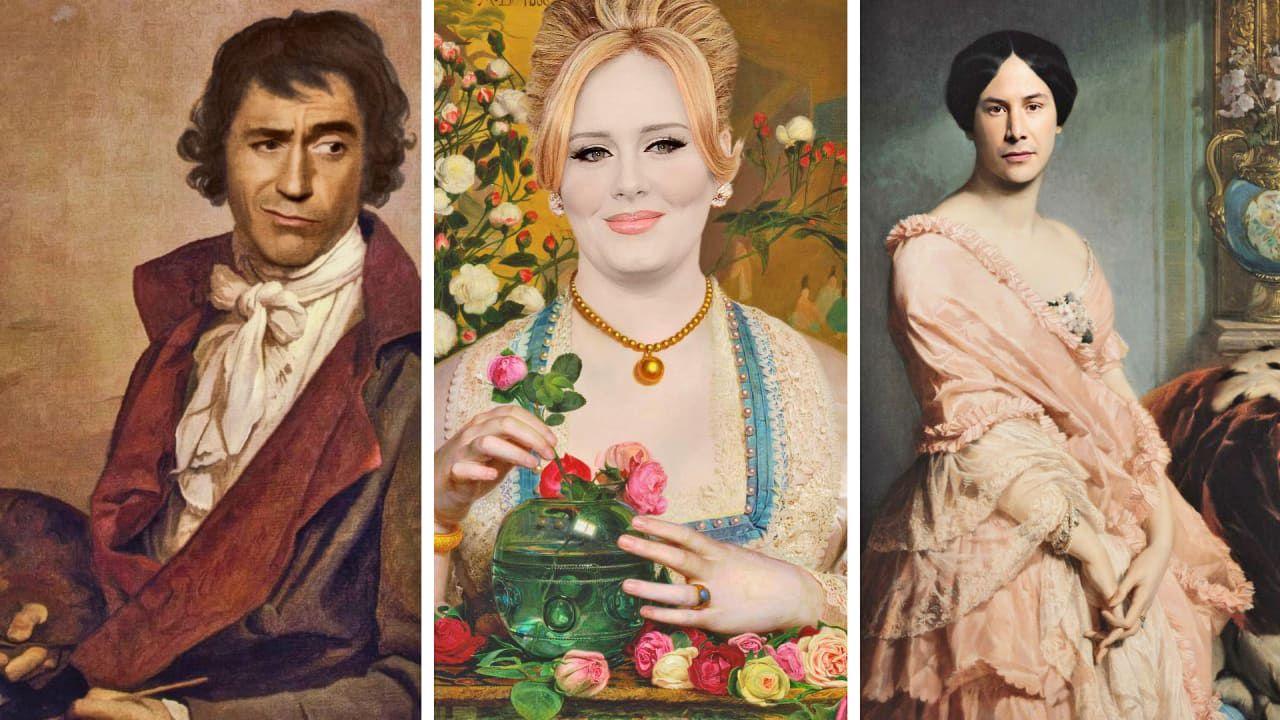 Modern Renaissance: i quadri classici ricreati con le celebrità moderne