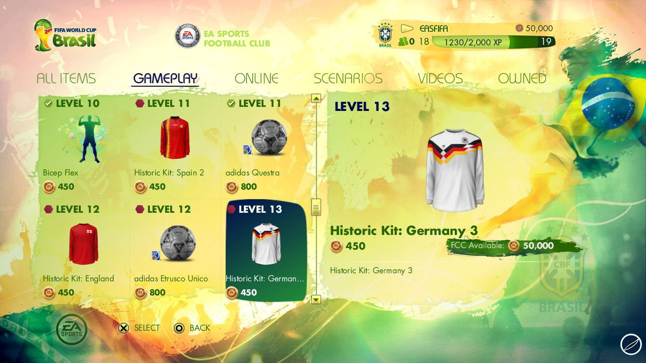 Mondiali FIFA Brasile 2014: demo disponibile su Xbox 360 e PS3